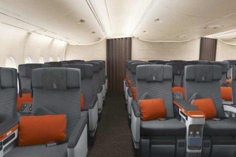 Novinkou na palubě bude třída Premium Economy, celkem půjde o 44 míst. Foto: Singapore Airlines