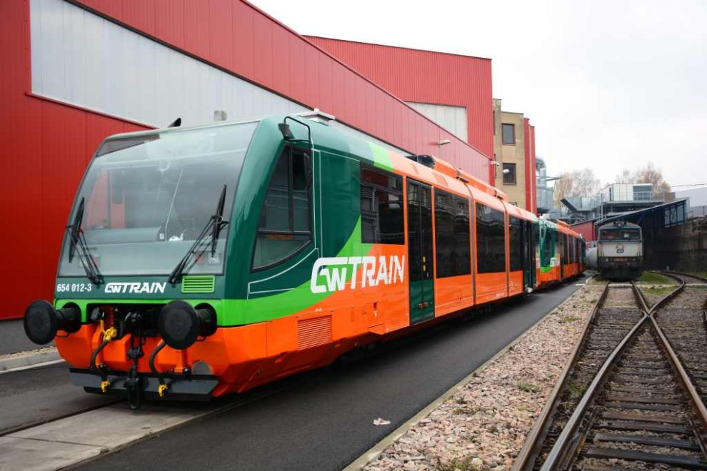 Poslední soupravy RegioSprinter po modernizaci v CZ Loko. Foto: CZ Loko