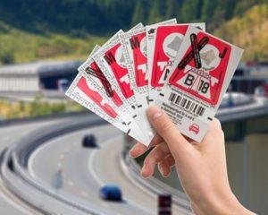 Rakouské dálniční kupony. Autor: ASFINAG