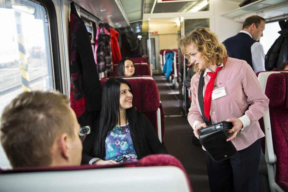 Z vlaku ZSSK. Foto: ZSSK