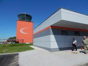 Letiště České Budějovice, řídící věž. Autor: Zdopravy.cz/Jan Šindelář