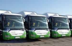 Autobusy SOR BNG 12 ČSAD Frýdek-Místek. Autor: ČSAD Frýdek-Místek