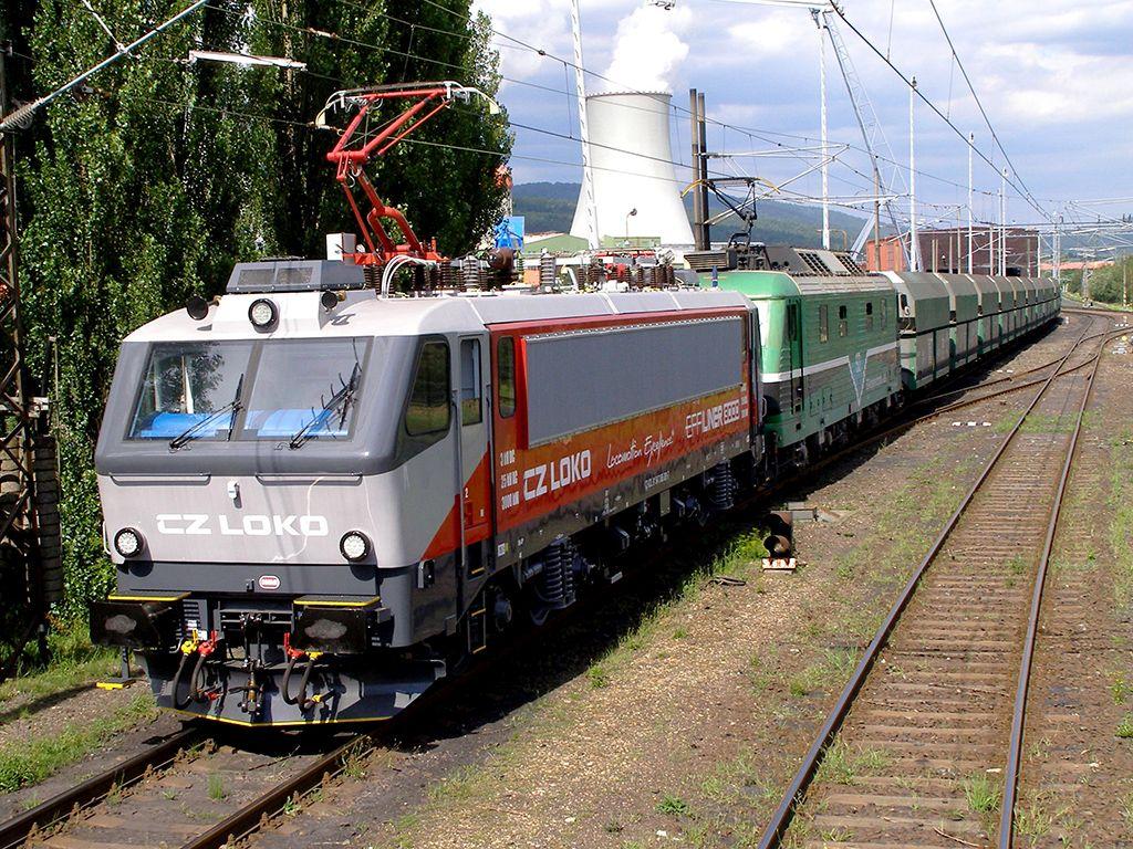 "CZ Loko. Elektrická lokomotiva EffiLiner 3000 zvaná ""Belgičanka"". Autor: CZ Loko"