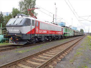 Elektrická lokomotiva CZ Loko EffiLiner 3000 Autor: Robert Škrlant