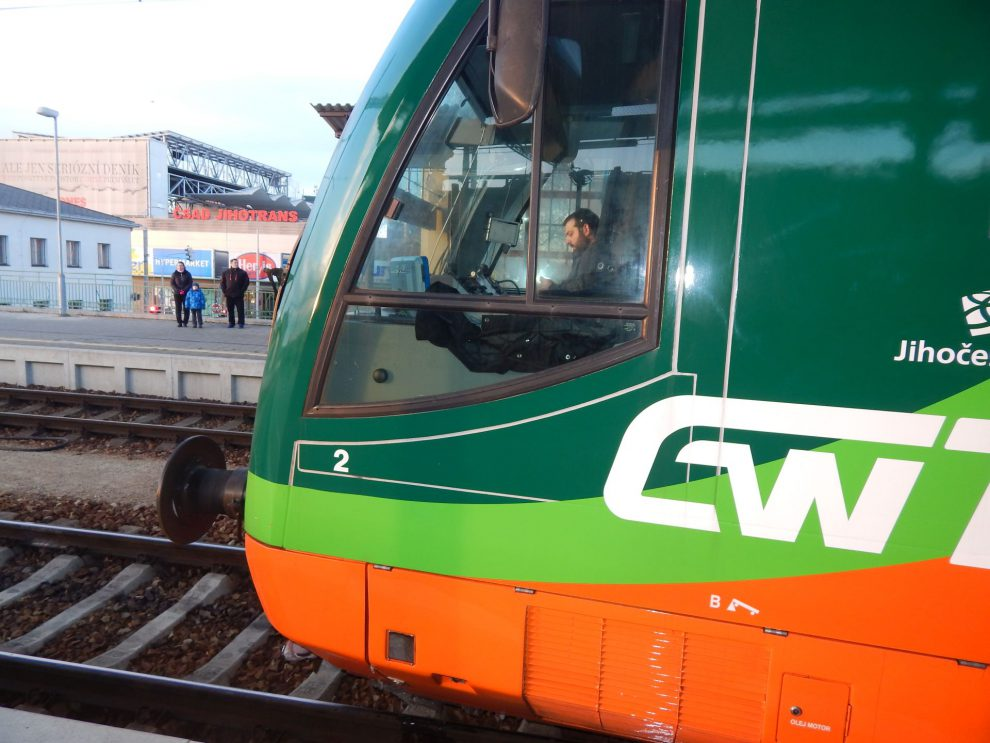 GW Train a Jihotrans, aneb vlaky a autobusy pod jednou střechou. Autor: Zdopravy.cz/Jan Šindelář