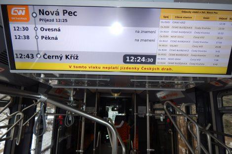 Interiér vlaku GW Train Regio. Autor: Zdopravy.cz/Jan Šindelář