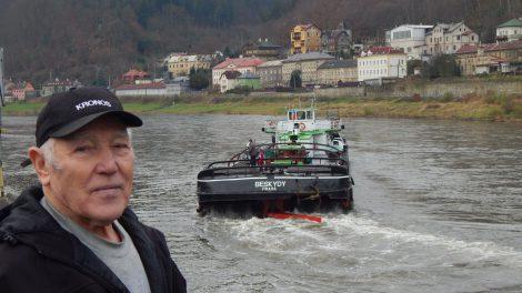 Břetislav Kubík v Děčíně. Autor: Zdopravy.cz/Jan Šindelář