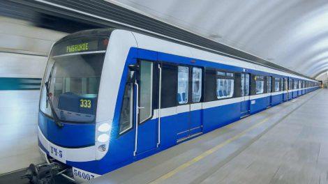 Vizualizace nového metra pro Petrohrad. Foto: Škoda Transportation