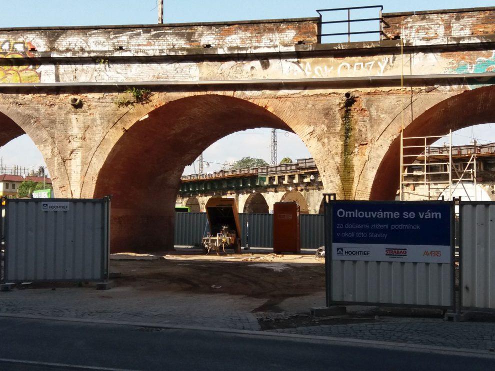 Oprava Negrelliho viaduktu, ilustrační foto. Autor: Zdopravy.cz/Jan Šindelář