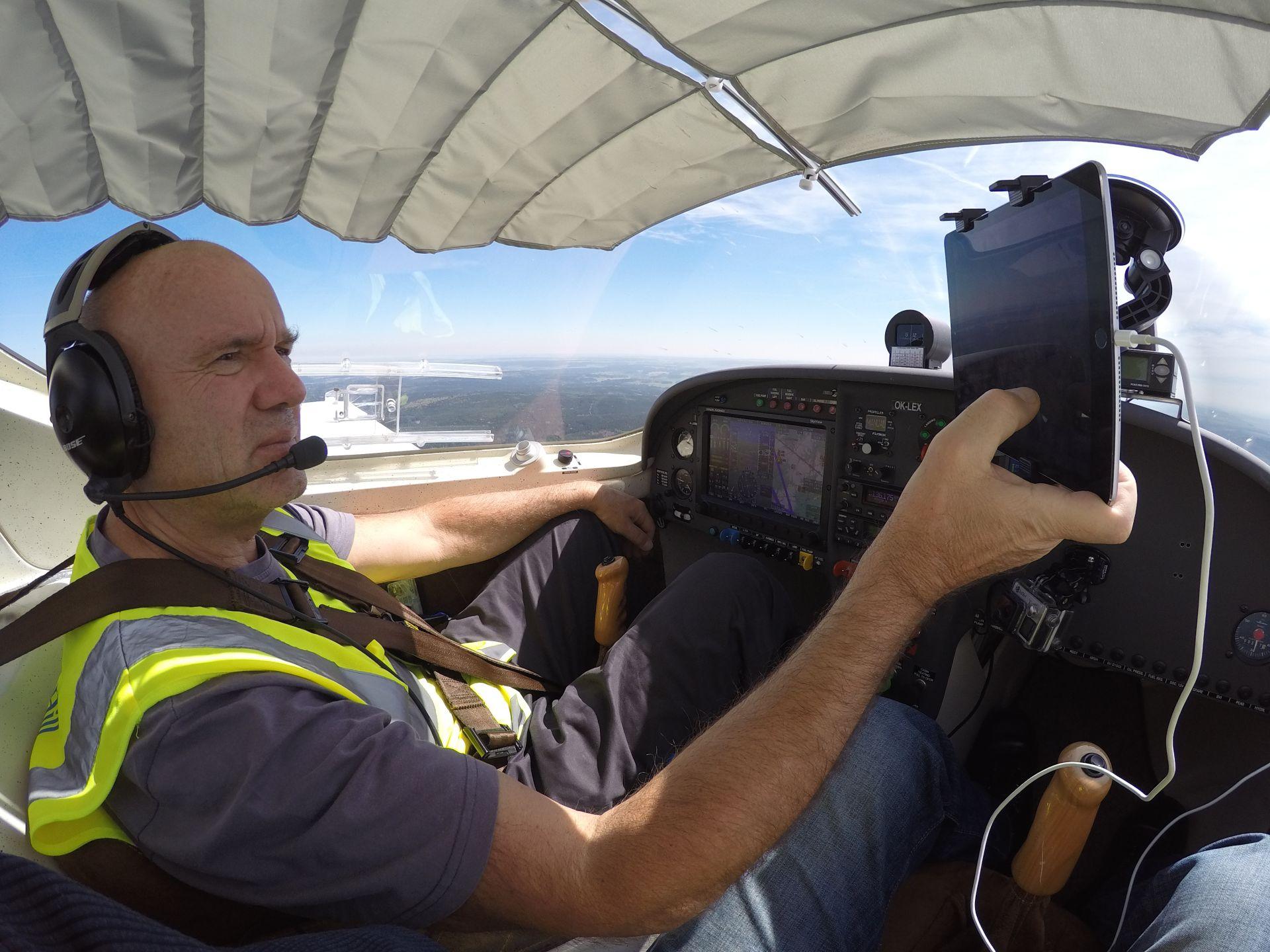 Pilot Jiří Pruša. Foto: Archiv Jiřího Pruši