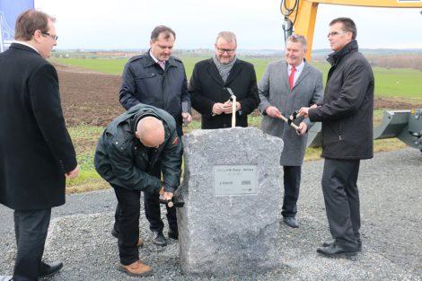 Zahájení stavby silnice I/16 Slaný - Velvary. Autor: ministerstvo dopravy