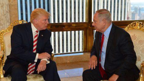 Donald Trump při jednání s izraelským premiérem Benjaminem Netanjahu. Foto: www.donaldjtrump.com