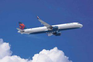 A321neo v provedení pro Deltu. Foto: Delta Air Lines