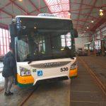 Nové autobusy Iveco Urbanway v nátěru DPMLJ. Foto: Jan Sůra