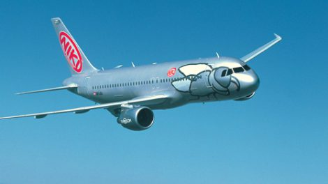 Airbus A321 společnosti Fly Niki. Foto: Fly Niki