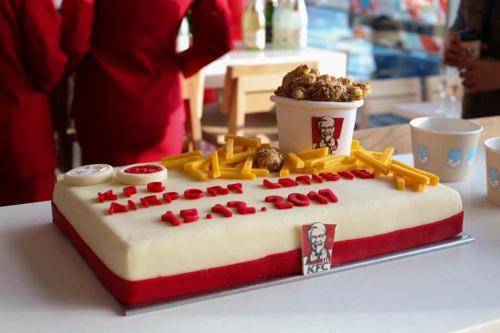 Otevření nové pobočky KFC na Letišti Václava Havla. Foto: Letiště Praha
