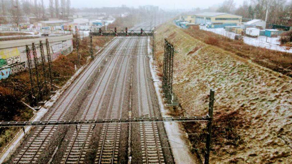 Koridorová trať v Praze. Foto: Jan Sůra