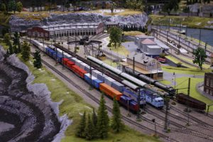 Pohled na jednu z částí kolejiště. Foto: Království železnic
