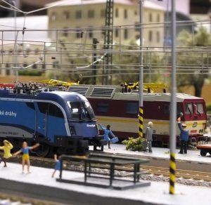Detaily z provozu. Foto: Království železnic