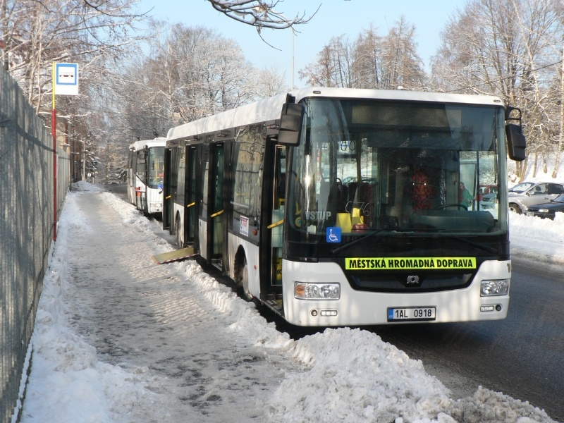 MHD v Jablonci nad Nisou. Foto: www.iidol.cz