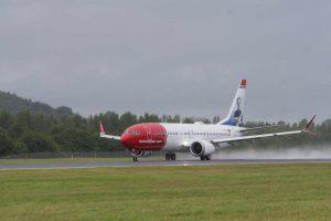 Boeing 737 MAX společnosti Norwegian. Foto: WWW.IANGEORGESONPHOTOGRAPHY.CO.UK