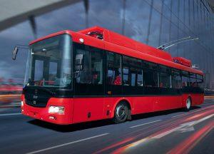 Trolejbus 30Tr. Foto: Škoda Electric