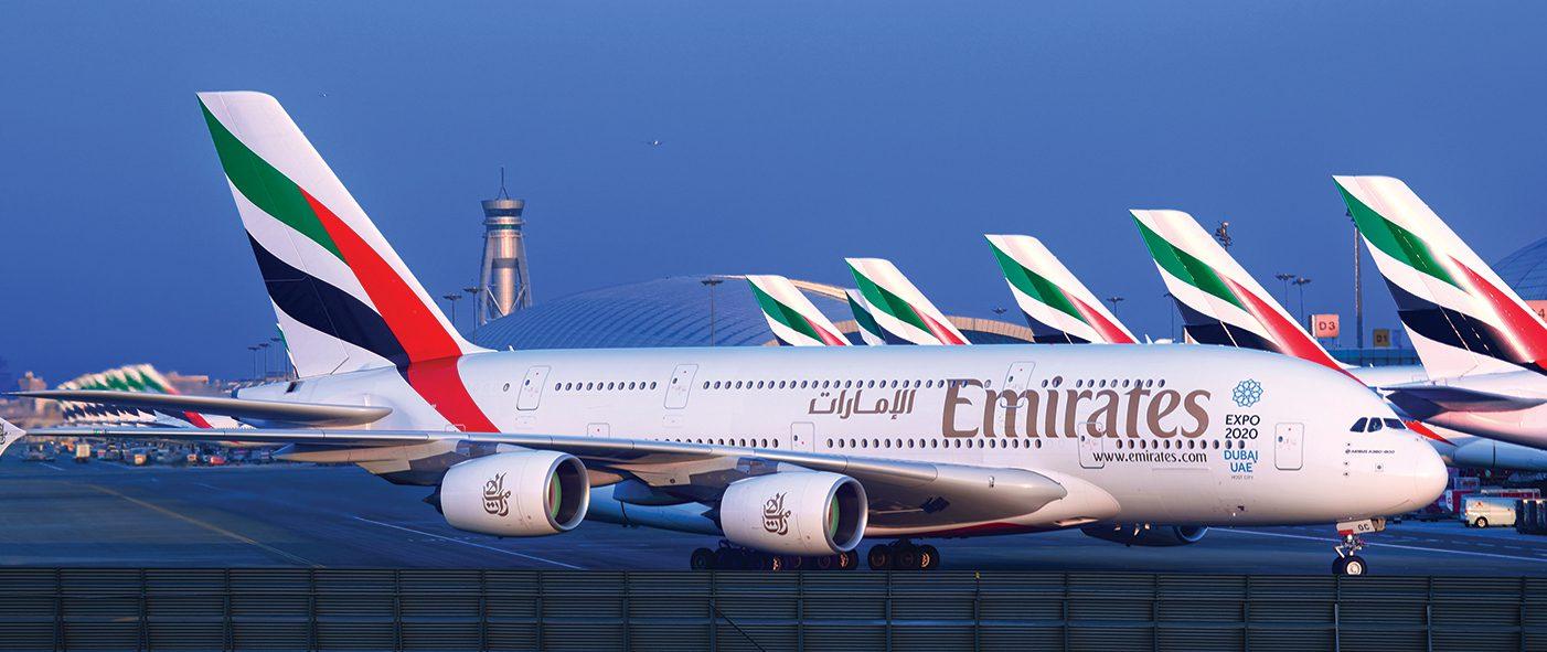 Emirates A380 v Dubaji. Foto: Emirates