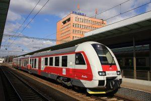 Vlak ZSSK v Prešově. Foto: ŽSR