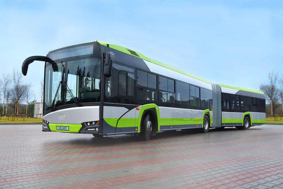 Autobus Solaris Urbino o délce 18 metrů. Foto: Solaris