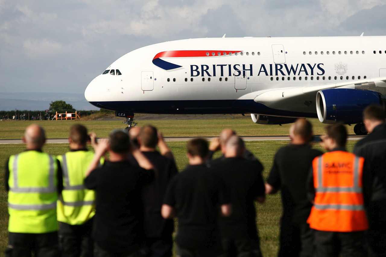 A380 British Airways v Cardiffu. Foto: Nick Morrish /British Airways
