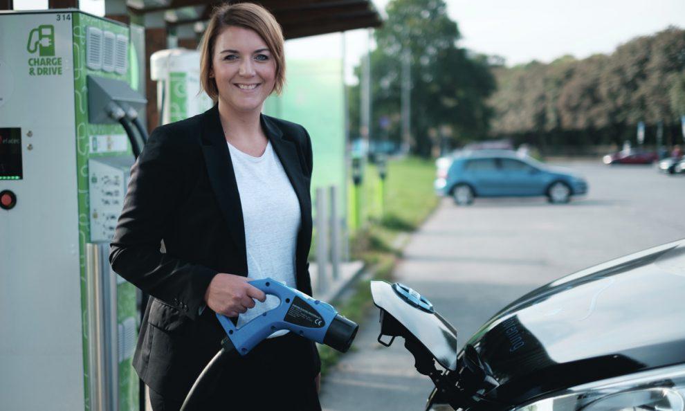 Tajemnice norského sdružení pro elektromobilitu Christina Bu. Foto: elbil.no