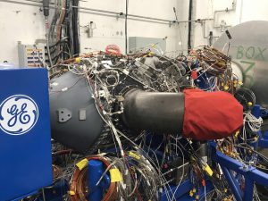 Advanced Turboprop na zkušebně před prvním startem. Foto: GE Aviation