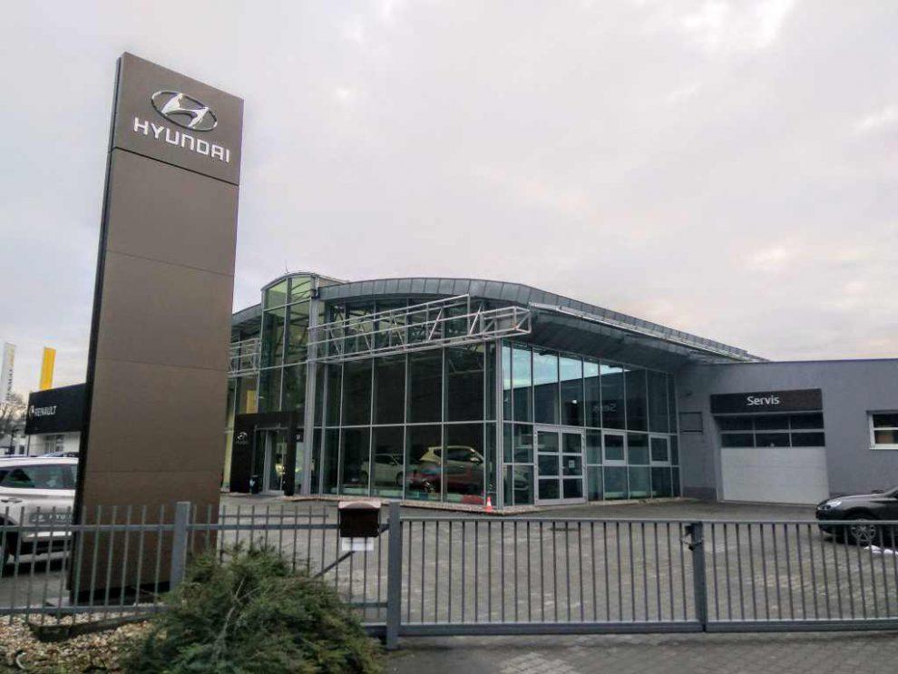 Autosalon Hyundai. Foto: Jan Sůra