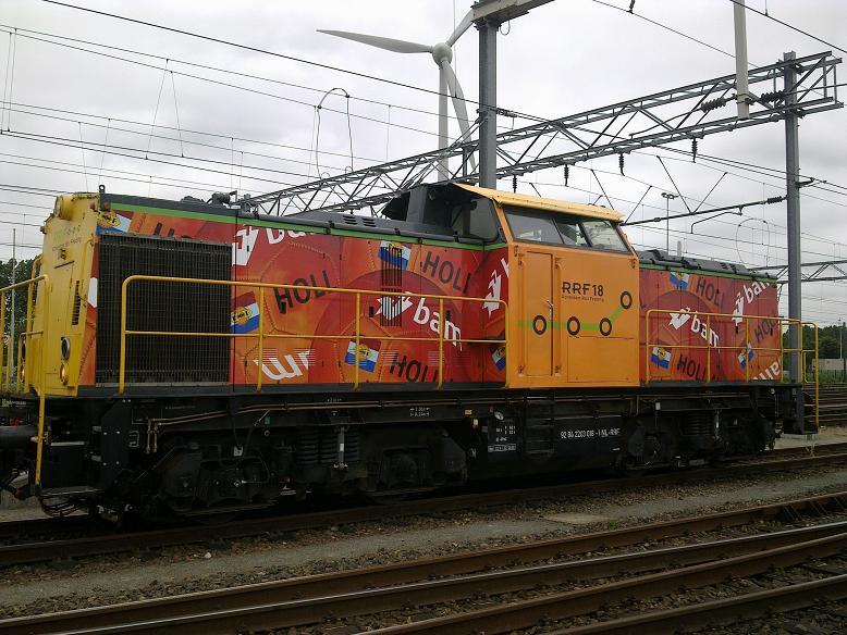 Lokomotivu pro testování poskytne dopravce Rotterdam Rail Feeding. Foto: RRF