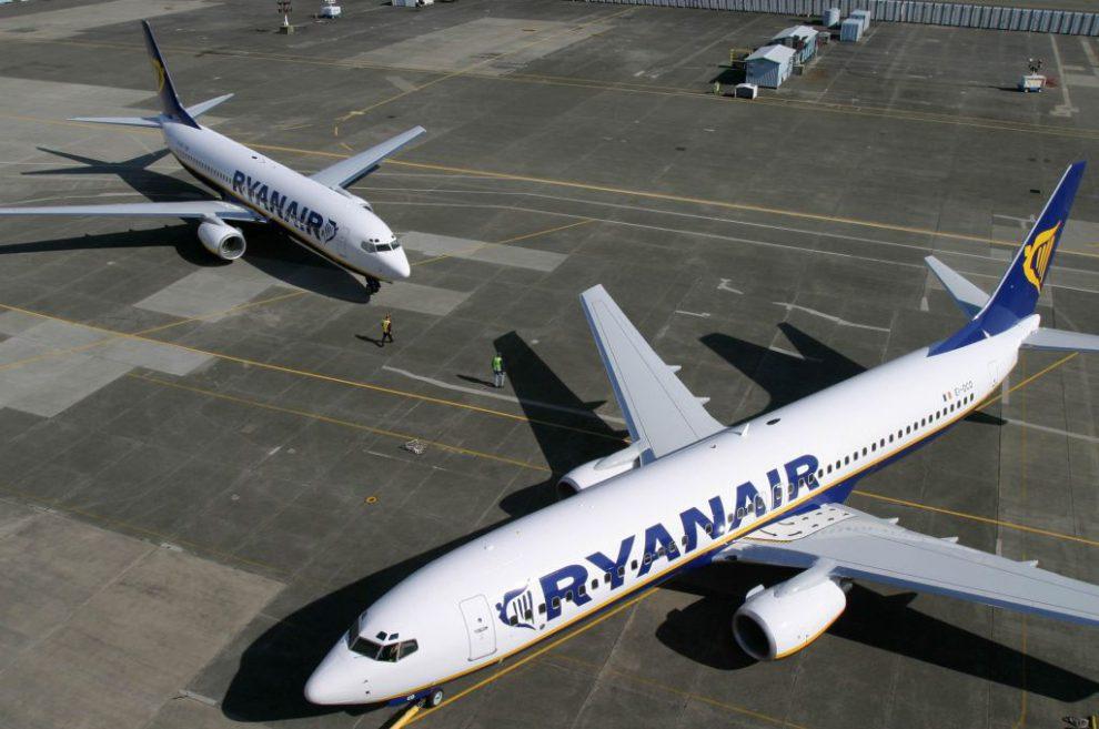 Boeingy 737-800 v barvách Ryanairu. Foto: Ryanair
