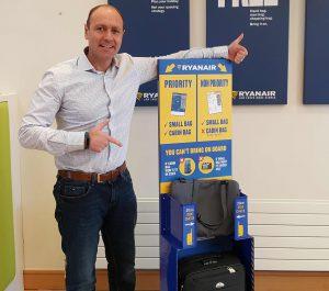 Ryanair a jeho nová politika se zavazadly na palubu. Foto: Ryanair