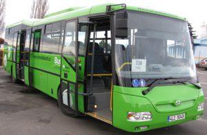 Autobus SOR v barvách pro linky v Ústeckém kraji. Foto: Kr-ustecky.cz