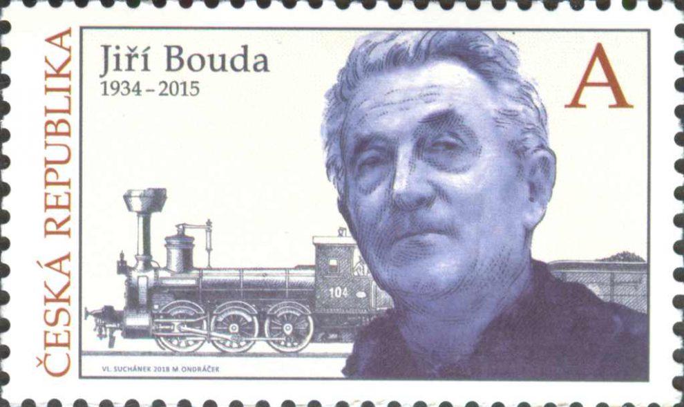 Výtvarník Jiří Bouda se dočkal vlastní poštovní známky. Foto: Česká pošta
