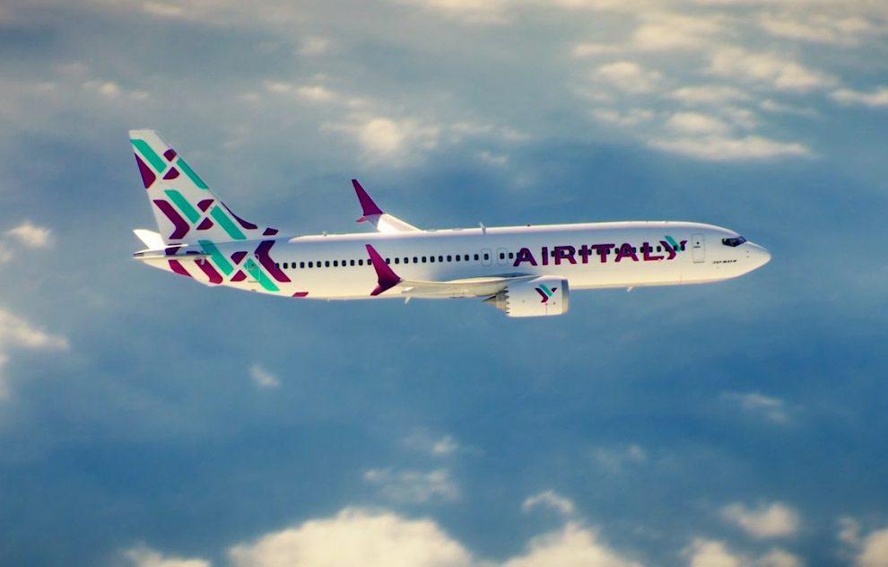 Boeing 737 MAX 8 v barvách Air Italy. Foto: Meridiana