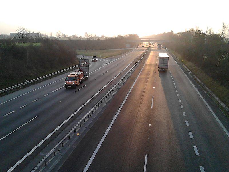 D11, exit Jirny. Foto: Palo/Wikimedia Commons