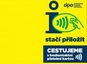 V Ostravě lze platit bezkontaktně, ilustrační foto. Pramen: DPO