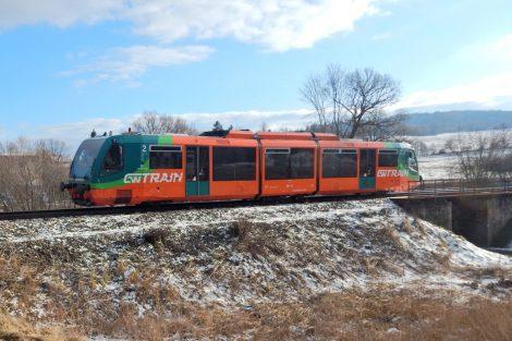 Regio Sprinter GW Trainu u Černé v Pošumaví. Autor: Zdopravy.cz/Jan Šindelář