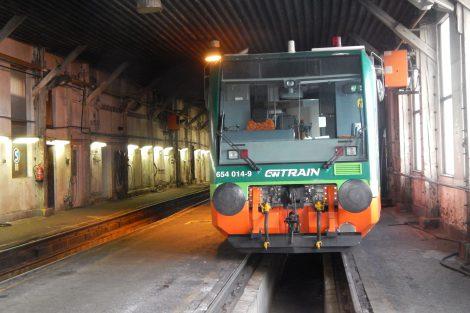 Regio Sprinter GW Trainu v remíze ve Volarech. Autor: Zdopravy.cz/Jan Šindelář