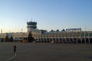 Letiště Katovice. Autor: Zygmunt Put Zetpe0202, Wikipedia
