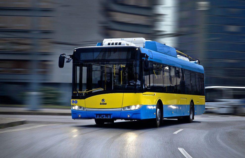 Trolejbus 26 Tr pro Pleven. Autor: Škoda Electric