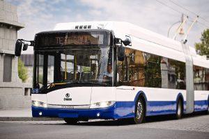 Trolejbus Škoda 27Tr pro Rigu. Autor: Škoda Electric