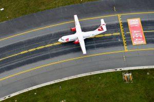 Letadlo ATR 42 v barvách ČSA. Foto: České aerolinie