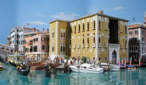 Model Benátek v Miniatur Wunderland v Hamburku. Foto: Miniatur Wunderland