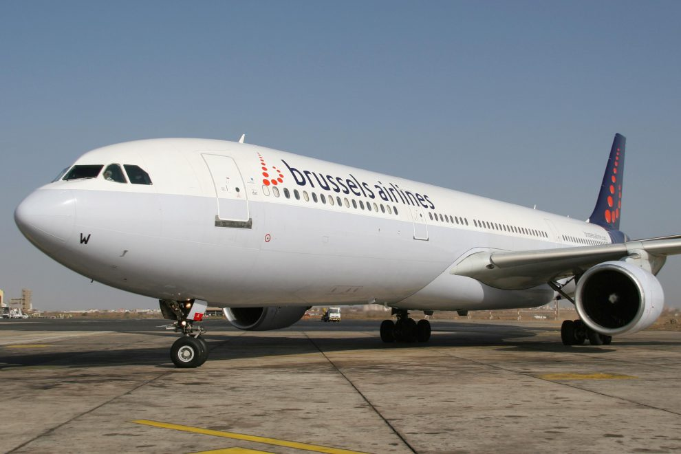 Brussels Airlines a jejich Airbus A330. Foto: Brussels Airlines