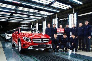 Výroba vozů Mercedes-Benz v Pekingu. Foto: Daimler